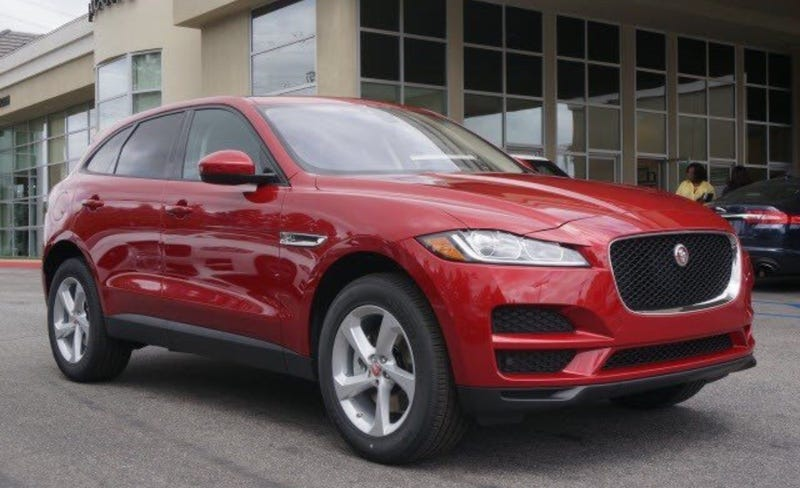 Illustration for article titled The Jaguar F-Pace in basic trim = nope