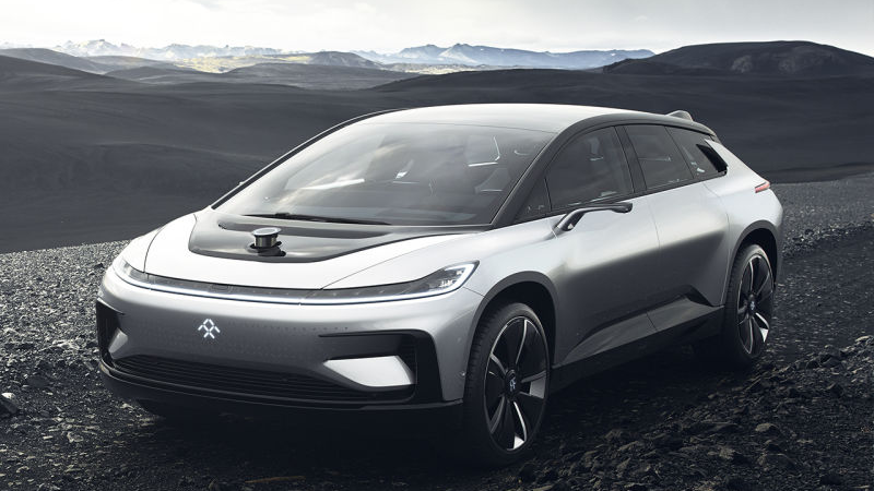Illustration for article titled Faraday Future's New CEO Gave Us The BMW i8, But The Actual Future Remains Uncertain