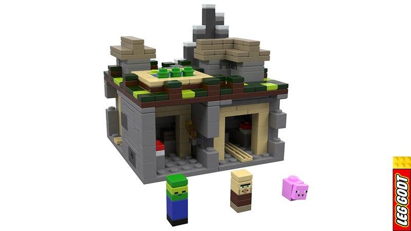 Illustration for article titled Saját farkába harapó kígyó: a LEGO Minecraftnak mi értelme van?