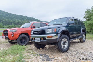 Every Day I Wake Up Thinking Man Wish Could Compare Two 4Runners 18 Years Apart And Then One My Dream Finally Came True