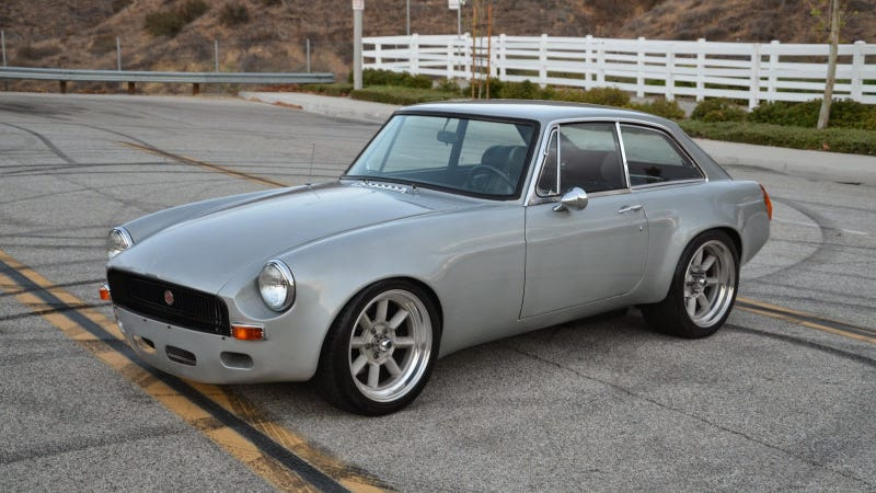 Buy This 425 Horsepower V8 Powered MGB GT And Commence Hoonage