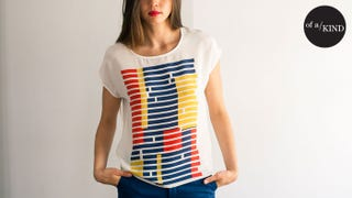 Illustration for article titled Score this Perfect, Unstuffy Silk Tee While You Can