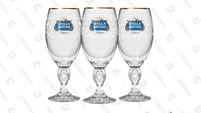 Stella Artois 2019 Limited Edition Chalice Set | $16 | Amazon