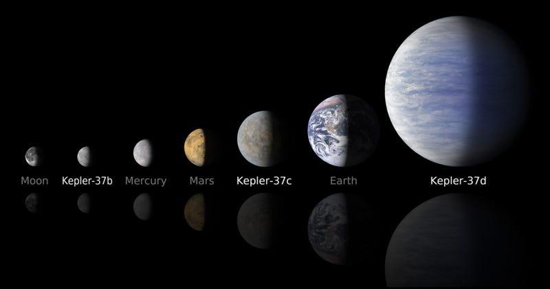 Illustration for article titled Astrónomos descubren el planeta más pequeño jamás avistado