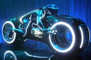 Illustration for article titled Important: Street-Legal Tron Lightcycles Are Up For Auction