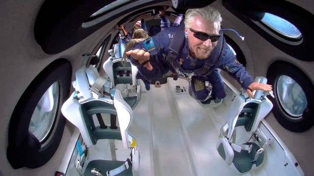 Richard Branson's Trip to Space Didn t Go as Planned