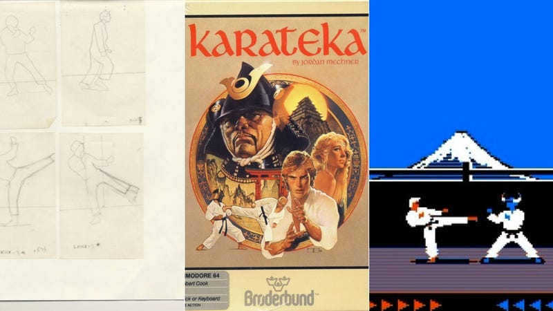 Illustration for article titled Apple Classic Karateka Gets Reboot, Bird Punching Makes a Comeback!