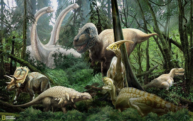 Illustration for article titled Dinosaur expedition