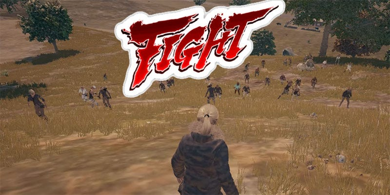 Illustration for article titled Battlegrounds Lag Leads To Massive Fistfight