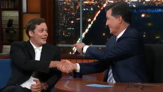Bill Skarsgård, Stephen Colbert