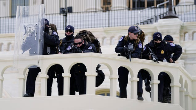 White Extremists Sought Murders of Politicians and Cops After Capitol Siege