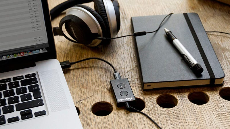 Illustration for article titled A Tiny Matchbook-Sized USB DAC Will Make Your Headphones Sound Sublime