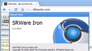 Illustration for article titled Iron Is Google Chrome for the Tinfoil Hat Crowd