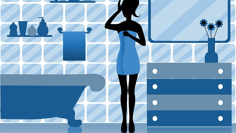 Illustration for article titled What Women Are Actually Doing in the Bathroom