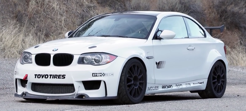 Illustration for article titled Putting An M3's V8 Into A 1-Series Creates The BMW We All Wanted