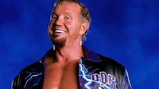 """Illustration for article titled Diamond Dallas Page Invented His Own Style Of Yoga: """"If Yoga Is A Bicycle Then DDP Yoga Is A Harley!"""""""