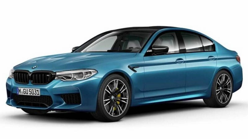 Illustration for article titled The 2019 BMW M5 Competition Package Just Doesn't Sound Worth It