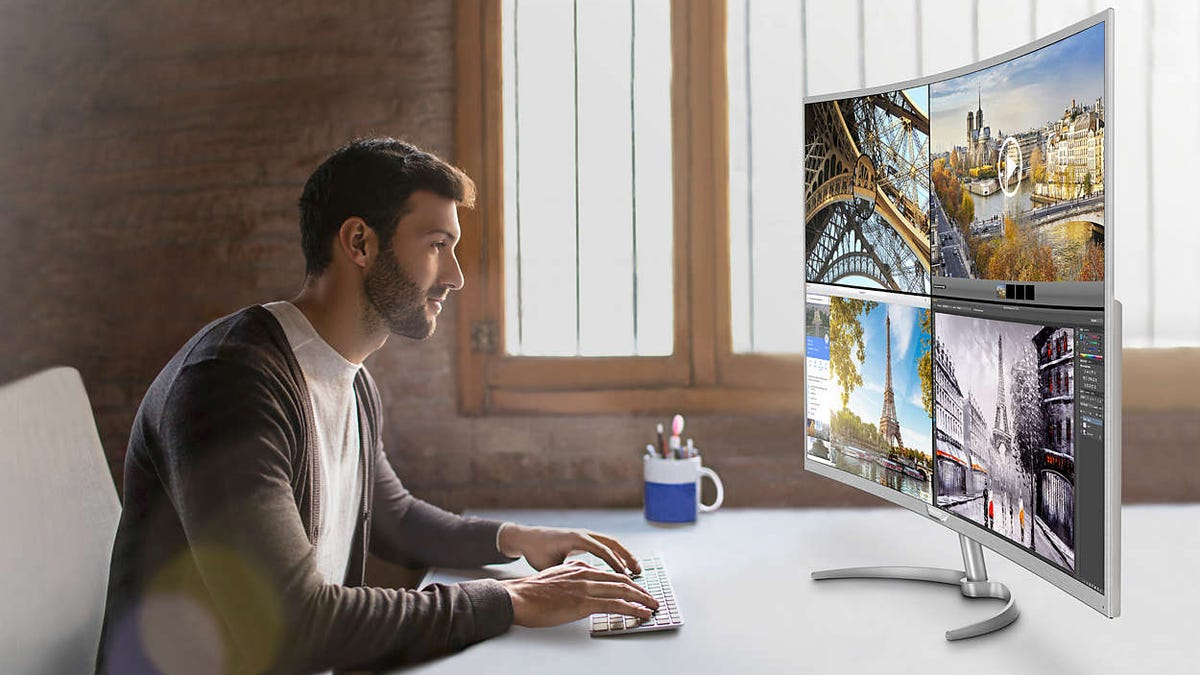Philips 40-Inch 4K Curved Monitor Review: Giving Up The Ghost