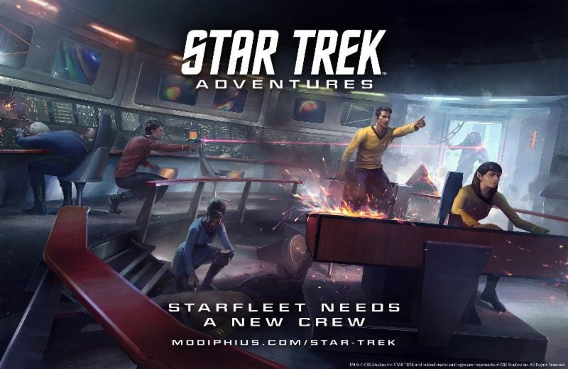 Illustration for article titled Grab Your Tricorders and d20s, Because Star Trek Is Returning to RPGs