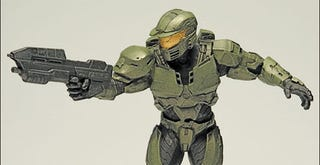 Illustration for article titled Halo Wars Action Figures Are Real-Time Posable