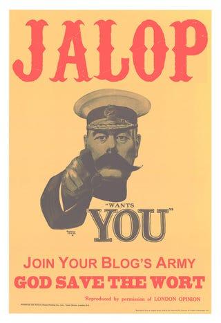 Illustration for article titled Jalopnik needs a Washington, D.C. intern