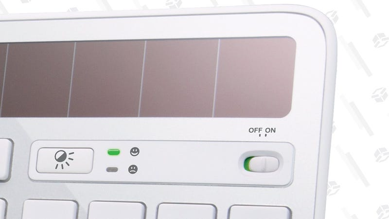 Logitech K750 Solar Keyboard | $40 | Amazon