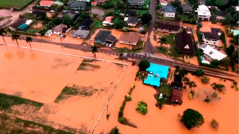 Kauai in the aftermath of this month's epic deluge.