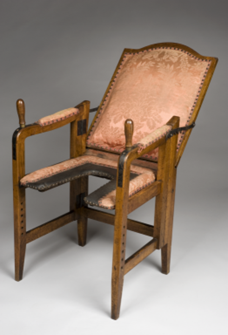 Modern birthing chair - This Adjustable Chair Let 18th Century Women Give Birth In Something Approaching Comfort