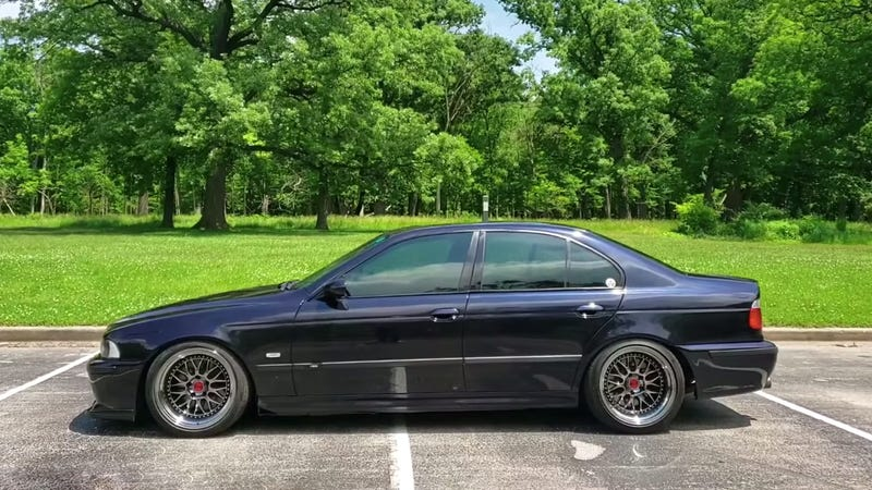 You've Got to Love Seeing an E39 BMW M5 With 409,000 Miles
