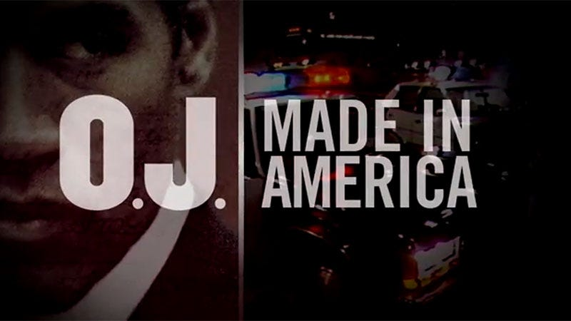 Illustration for article titled Watch the Trailer For ESPN's 7-Hour O.J. Simpson Documentary: O.J.: Made In America