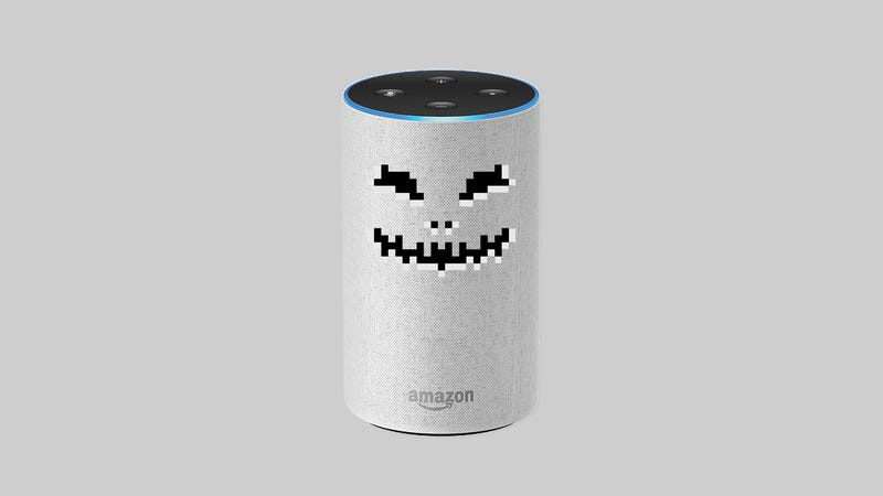 Illustration for article titled Your Worst Alexa Nightmares Are Coming True
