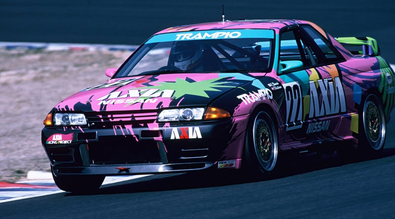 Illustration for article titled Is This The Most 1990s Race Car Ever?
