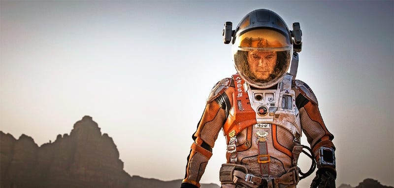 Illustration for article titled Primeras imágenes de Matt Damon en la película The Martian