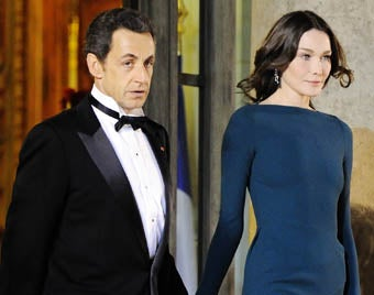 Illustration for article titled Bruni, Sarkozy Too French To Address Infidelity Rumors