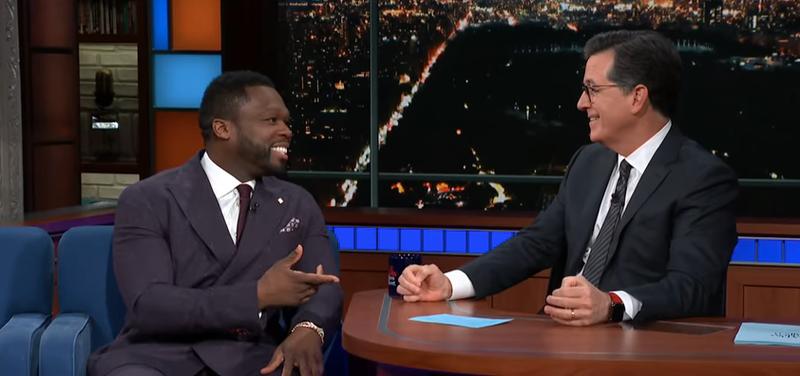 50 Cent, Stephen Colbert