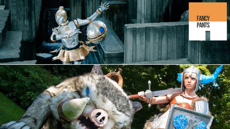 Illustration for article titled League of Legends Cosplay That's so Good it Doesn't Look Human