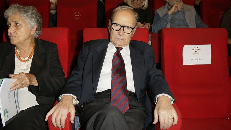 Ennio Morricone (Image by: Getty Images)