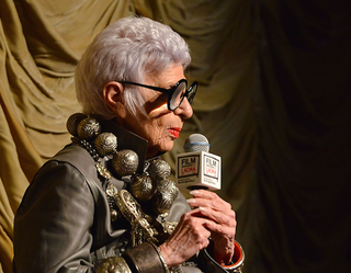 Illustration for article titled Boss Lady Iris Apfel: 'Kids Can't Buy $15,000 Dresses'