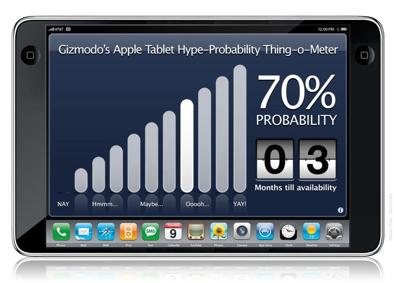 Illustration for article titled No Apple Tablet Till 2010, Say Sources