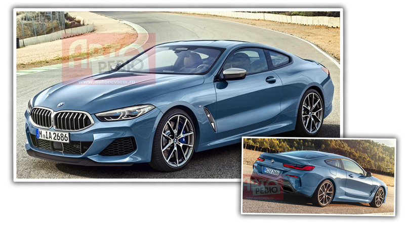 Illustration for article titled Leaked Images Of The New BMW 8 Series Show It's Very Close To The Concept