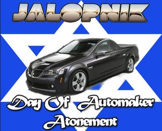 Illustration for article titled Jalopink Day Of Automaker Atonement: GM