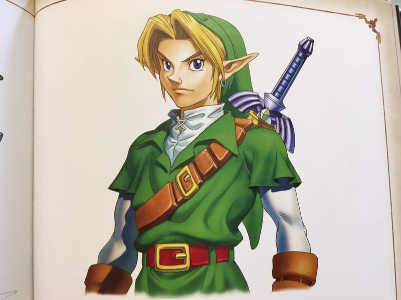 Image from The Legend of Zelda: Art & Artifacts