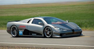 Illustration for article titled SSC Ultimate Aero TT Is The Fastest Car In The World