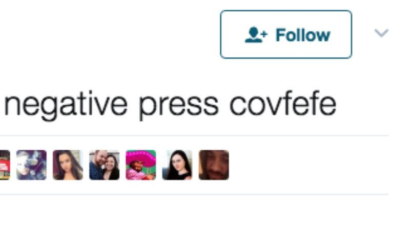 Illustration for article titled Donald Trump gives Twitter a late-night covfefe