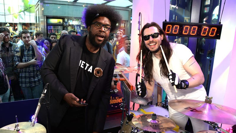 Illustration for article titled Questlove and Andrew WK Will Always Party Hard