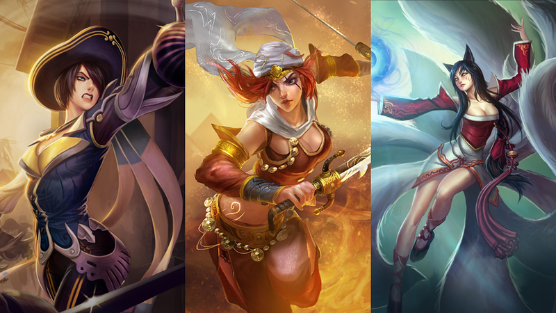 Female League Of Legends Characters Banned At An Iranian Tournament