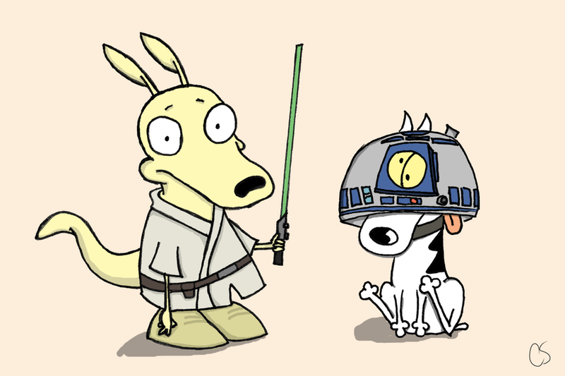 Illustration for article titled Jedi's modern life: Use the CAH Rocko!