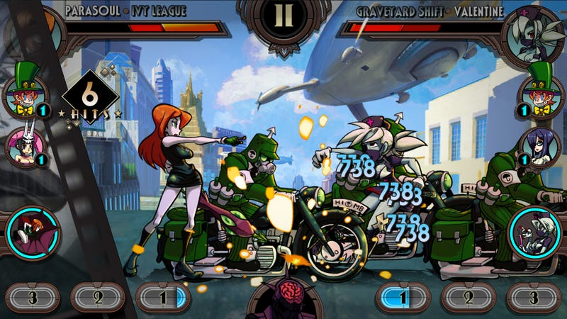 Illustration for article titled Skullgirls Goes Mobile With A Fighting RPG Spinoff