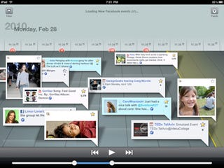 Illustration for article titled Social Networking App iStreamer Displays Tweets in Auto-Scrolling Format