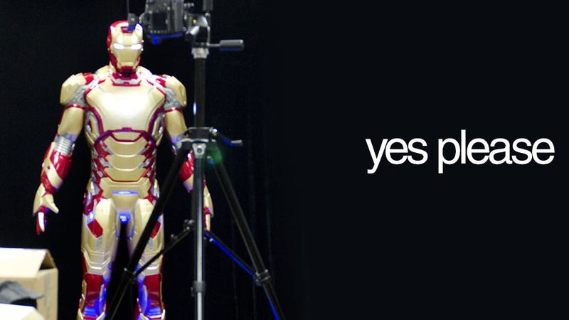Illustration for article titled You Can Buy Your Own Life-Sized Iron Man. Tony Stark Not Included.